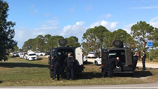 SWAT situation after possible shots fired in Port St. Lucie on Thanksgiving Day - Video