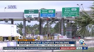 SunPass customers still dealing with issues after maintenance - Video