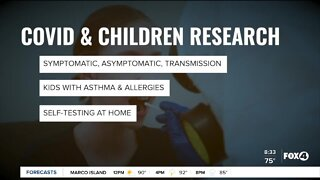 Researchers conduct study on children and Covid