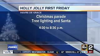 Holly Jolly First Friday in Havre de Grace - Video