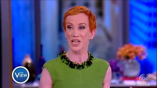Kathy Griffin Issues Shock 'Date Rape' Trump Statement