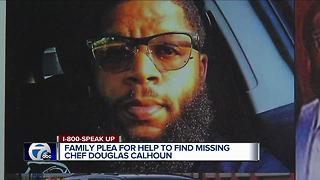 Family pleads for help to find missing chef Douglas Calhoun - Video