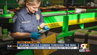 More drugs are traveling through U.S. mail - Video