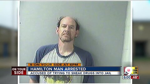 Man accused of trying to sneak drugs to inmate