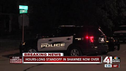 Shawnee police clear scene after 7-hour standoff