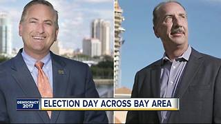 Election Day underway across the Tampa Bay Area - Video