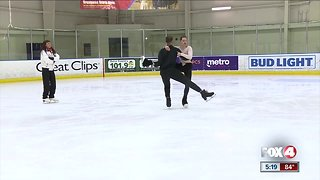 Former Olympic skaters bring ice dance academy to SWFL