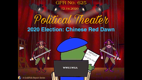 The GoldFish Report No. 625 - Political Theater: 2020 Election - Chinese Red Dawn