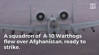 "A-10 Wastes Taliban Truck, Redefines ""Overkill"" With 2nd Pass - Video"