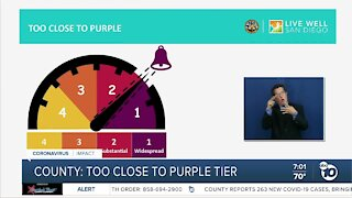 SD County on brink of moving into purple, more restrictive tier