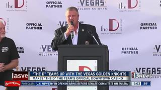 D Las Vegas announces partnership with Vegas Golden Knights - Video