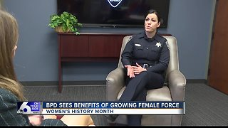 Boise Police Department sees benefits of growing female force