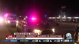 Sebastian officer injured in shooting at bar Monday night - Video