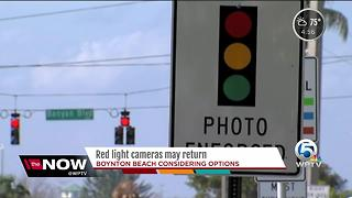 Red light cameras in Boynton