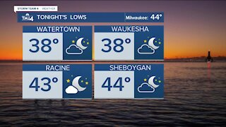 Chilly fall night ahead
