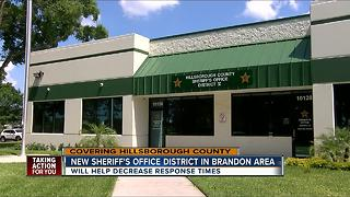 HCSO aims to cut response times by adding new district - Video