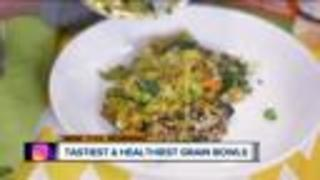 Grain and power bowls gaining popularity in restaurants - Video