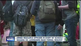 Push for armed resource officers in schools - Video