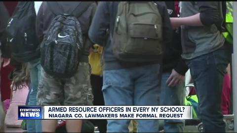 Push for armed resource officers in schools