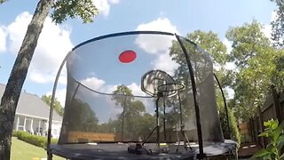 STUDENT GIVES ULTIMATE FRISBEE A WHOLE NEW MEANING BY SHOWCASING AMAZING TRICK SHOTS