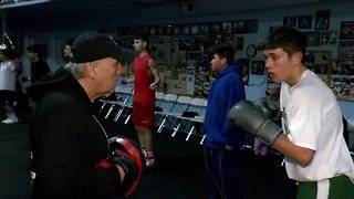 Johnny Montalvo, from getting buckets to boxing