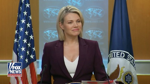 Nauert: You're Asking Me Should We Apologize For Our Government All Around The World