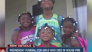 Funeral planned for four young girls killed in Carroll County house fire