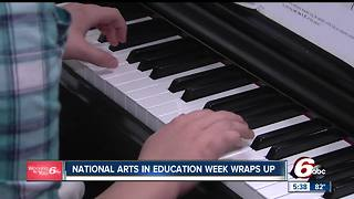 Elementary school celebrates National Arts in Education Week - Video