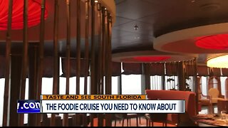 Summer vacation foodie cruise idea