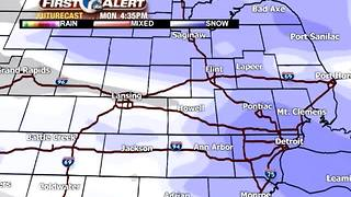 Tracking our next round of snow