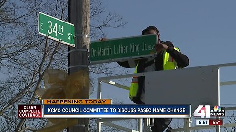 KCMO committee to discuss renaming Dr. Martin Luther King, Jr. Boulevard to The Paseo Wednesday