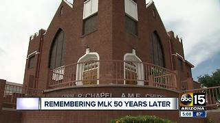 Valley remembers Martin Luther King Jr. 50 years later - Video