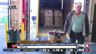 Meals of Hope works to end hunger for the holidays - 8am live report - Video