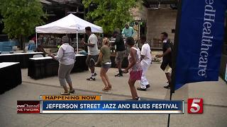 17th Annual Jefferson Street Jazz And Blues Festival Underway