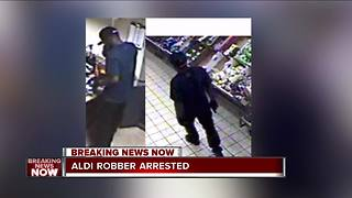 FBI: ALDI serial armed robber charged after spree from Wisconsin to Indiana - Video
