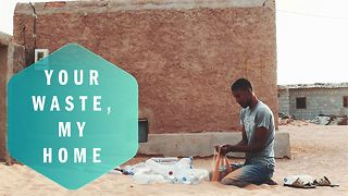From trash to treasure: the plastic bottle village