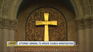 AG to update Catholic Church investigation