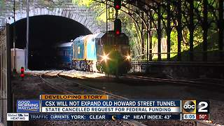 CSX decides against Howard Street Tunnel Project - Video