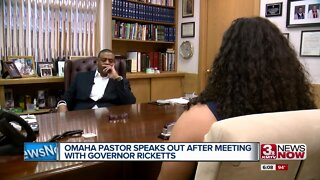 Omaha Pastor Speaks Out After Meeting With Gov. Ricketts