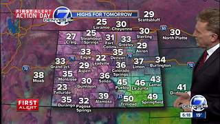 First Alert Action Day: Snow for Denver - Video