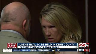 Sabrina Limon trial to begin today, Monday in Kern County - Video