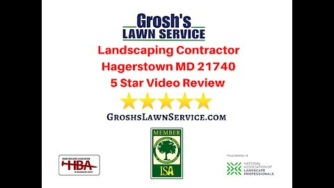 Landscaping Review Hagerstown MD Video 5 Star Review Contractor