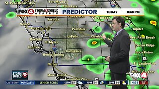 Forecast: For your Friday expect morning coastal rain and afternoon inland storms