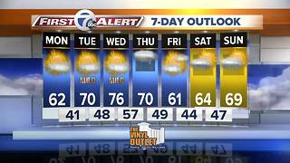 7 First Alert Forecast - 0507 5am - Video