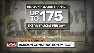 Major road construction coming ahead of Amazon's 2020 opening in Oak Creek