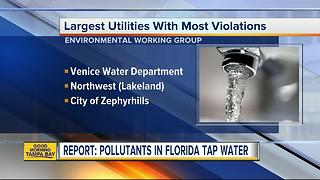 Is your drinking water safe? New tool lets you check pollutants in your tap water by your zip code - Video