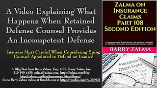 WA Video Explaining What Happens When Retained Defense Counsel Provides an Incompetent Defense