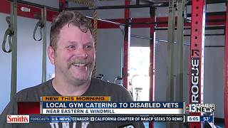 Local gym caters to disabled veterans - Video