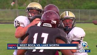 West Boca takes down Lake Worth - Video