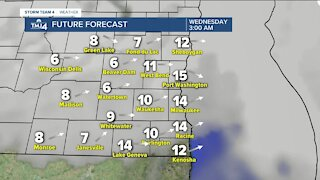 Briefly cold start to the week
